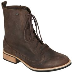 Boxfresh Women's Tithin Lace Up Boots - Dark Brown