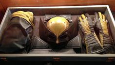 """Yellow Wolverine?!?   Moviepilot ...The suits of the X-Men started getting better within the movie """"X-Men: First Class"""". Hoepfully he'll wear it in """"Days of Future Past"""" at one point.... """"It's kinda sweet."""" They filmed the shot on the plane ride back to New York at the end and it shows Logan react to it."""