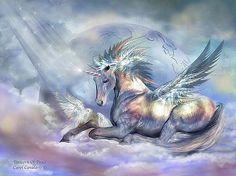 Carol Cavalaris - Unicorn Of Peace