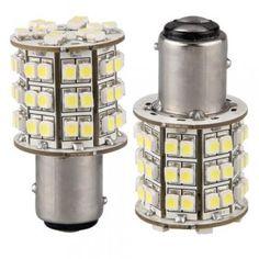 [� 2.85] Car 1157 1016 White 3528 SMD 60 LED Tail Brake Light Bulb Lamp