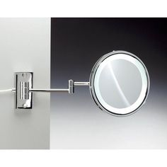 Ws bath collections mevedo polished chrome led wall mounted ws bath collections mevedo polished chrome led wall mounted magnifying mirror pinterest wall mounted magnifying mirror polished chrome and wall mount aloadofball Images