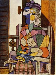 Seated Portrait of Marie-Therese Walter - Pablo Picasso