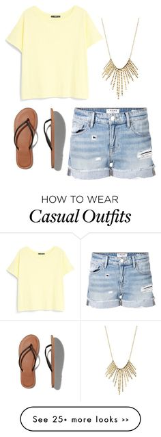 """Casual Summer Day"" by dannygl on Polyvore"
