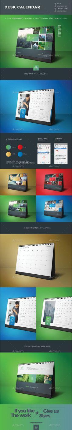 Calendar 2018 by westsidevectors Calendar 2019 Design, 2018 Calendar Template, New Year Calendar, Calendar Layout, Calendar 2018, Table Calendar, Office Calendar, Lightroom, Photoshop