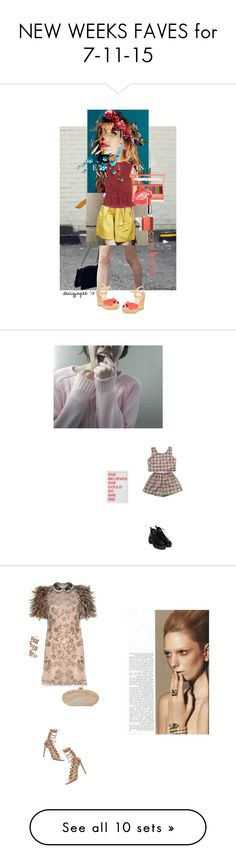 """""""NEW WEEKS FAVES for 7-11-15"""" by sfree ❤ liked on Polyvore featuring beauty, Isabel Marant, Dune, LORAC, Topshop, Clinique, contestentry, CoralLips, Pottery Barn and Girls"""