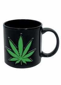 Stonerware Leaf Embossed 20 oz. Mug - goHastings