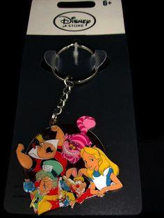 Disney Alice In Wonderland Movie Keychain