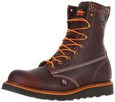 Thorogood Men's American Heritage Plain Toe Work Boot Thorogood. $142.28…