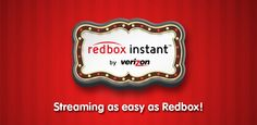 #Introduction to Redbox instant by Verizon