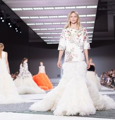 Giambattista Valli Fall 2015 Couture Backstage