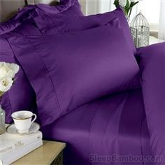 purple bamboo sheets from sleep bamboo
