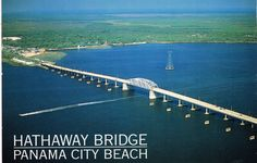 Bay County, The Boogie, Love Gun, Panama City Beach, Post Card, Vintage Posters, Bridge, Sunshine, Florida