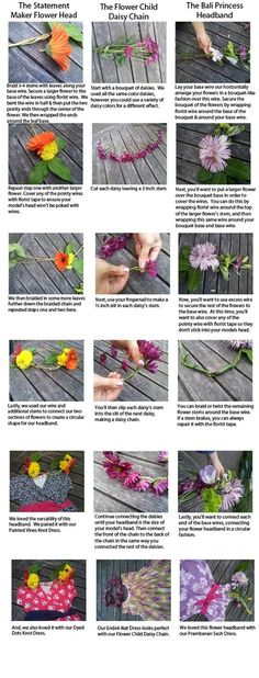 Nothing blooms quite like flowers in your hair. Follow Teas #DIY tutorial on  making flower headbands for your little ones. #pinparty #haircut