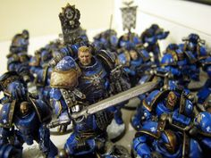 """""""Roboute Guilliman, Warrior-King of Macragge, commands his forces during the Compliance of Gharestes."""""""