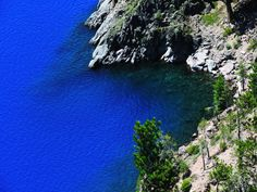The Bluest Lake Ever: Crater Lake, Oregon