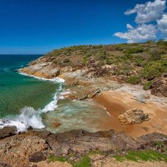 The rugged beauty Agnes Waters #qld #agneswaters #queensland #thisisqueensland
