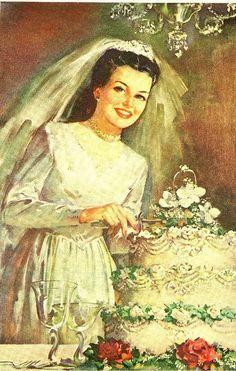 vintage bride: