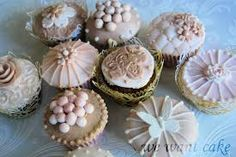Image result for shabby chic cupcakes