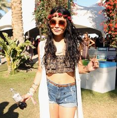 All the celebrity beauty from Coachella
