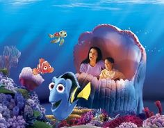 Our family loves Finding Nemo at the Living Seas