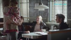 """Once Upon A Time 6x03 Hook Emma Alex  at Granny's """"The Other Shoe"""" Seaso..."""