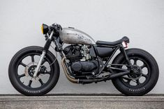 Cafe Racer Pasión — Kawasaki KZ550 Cafe Racer by Ventus Garage |...