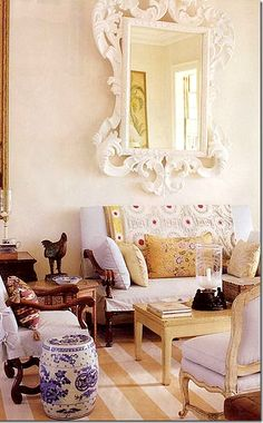 LA COLINA CHIC- John Rosselli and Bunny williams | Mark D. Sikes: Chic People, Glamorous Places, Stylish Things