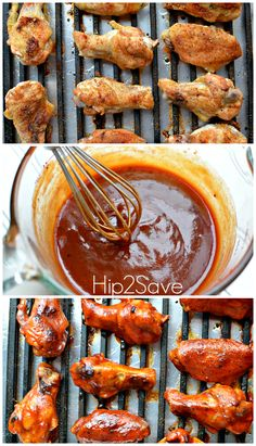 Will you be serving up chicken wings on Super Bowl Sunday? Then check out this winning Honey BBQ Baked Chicken Wings Recipe! Honey Bbq Chicken Wings, Cooking Chicken Wings, Baked Chicken Wings, Chicken Wing Recipes, Chicken Meals, Honey Wings, Sesame Chicken, Barbecue Chicken, Boneless Chicken