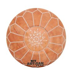 - 100% Leather - Ethically Handmade in Morocco - Size / D 53 x H 32cm - Zip on Underside - Free UK Shipping For orders email: myartisanshop@myartisanshop.com Ottoman, Moroccan Leather Pouf, Free Uk, Handmade, Morocco, Color, Zip, Home Decor, Hand Made