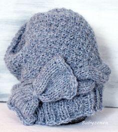 Oppskrift på strikket lue til jenta 3-4 år.