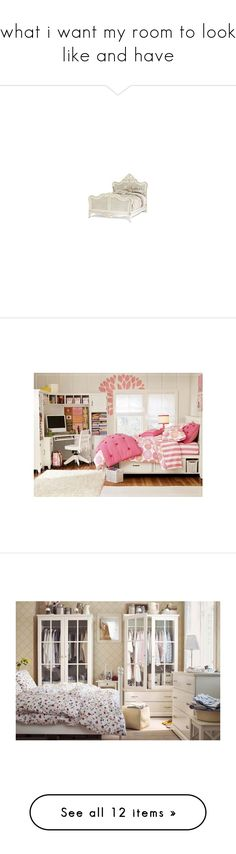 """""""what i want my room to look like and have"""" by moree-sabra ❤ liked on Polyvore featuring home, furniture, beds, bed, bedrooms, french country furniture, provence furniture, french country style furniture, french cottage furniture and french country bed"""