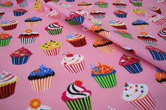 Cupcake fabric from Eurokangas