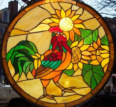 If you love art, you should choose stained glass window panels for your windows at home. That would look beautiful for your house.