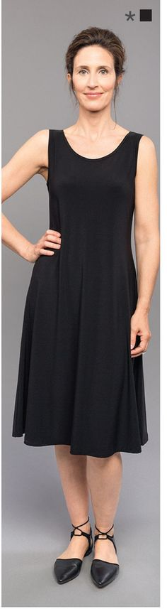 You will love this Sympli knee length sleeveless Tunic tank dress. Super soft and comfortable fabric in addition to a flattering fit for all women. A-line, flattering fit, great layering piece for any occasion, Signature Sympli fabric. Can be easily be worn as a tank dress or a tunic.  Sympli Tank Dress Short, Style #2822S  Great for traveling… The fabric seems impossible to wrinkle. Machine washable and incredibly wearable. We guarantee you will love every piece you buy!