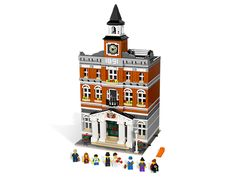 Take your LEGO® Town to the next level with a 3-story Town Hall packed with realistic details in another amazing Modular Building series set!