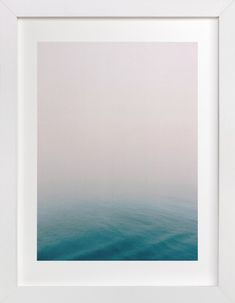 Fog at Sea by SylvieCeres Designs at minted.com