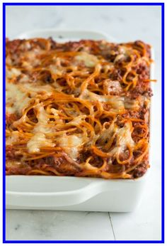Easy baked Spaghetti Recipe-#Easy #baked #Spaghetti #Recipe Please Click Link To Find More Reference,,, ENJOY!! Easy Baked Spaghetti, Creamy Spaghetti, Spaghetti Recipes, Pasta Recipes, Beef Recipes, Cooking Recipes, Recipe Pasta, Paleo Spaghetti, Spaghetti Bake