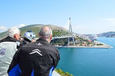 Franjo Tudjman Bridge in Dubrovnik www.motorcycle-tours.travel