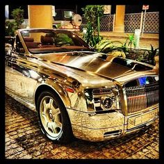 Rolls-Royce Prepared gold
