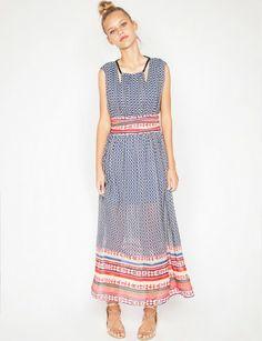 Sunset maxi dress