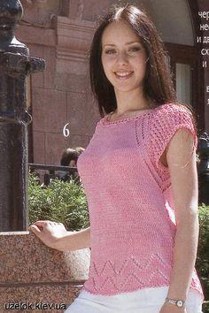 Пуловер с ажурной каймой. Обсуждение на LiveInternet - Российский Сервис Онлайн-Дневников