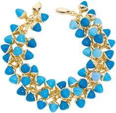 Mikado Flamenco Bracelet Turquoise