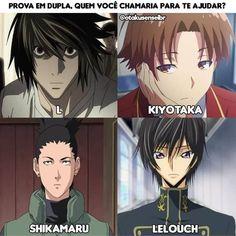 Chamaria o Shikamaru Anime Meme, Otaku Anime, Anime Naruto, Manga Anime, Humor Otaku, Charlotte Anime, L Death Note, Harry Potter Anime, Fairy Tail Manga