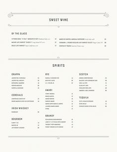 Art of the Menu: Carbone Food Menu Design, Restaurant Menu Design, Restaurant Branding, Brand Identity Design, Branding Design, Corporate Branding, Logo Branding, Wine By The Glass, Pastry Design