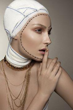 Masha Voronina by Michelle du Xuan forTush MagazineWinter 2010