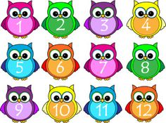 Classroom Labels- Owl Themed- Editable *Back To School* by Reading Rox Owl Theme Classroom, Classroom Calendar, Classroom Labels, Kindergarten Classroom, Classroom Teacher, Classroom Ideas, Clock Labels, Baby Owls, Behavior Management