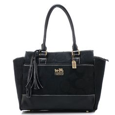 #CoachOutletStore Taking The Coach Legacy Candace Medium Black Satchels AZF Make You Different From Others!
