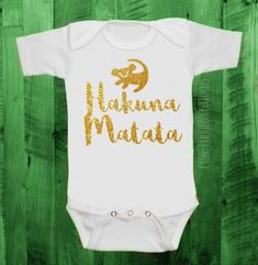 Toddler & Baby Sizes  Lion King Disney Inspired Bodysuit
