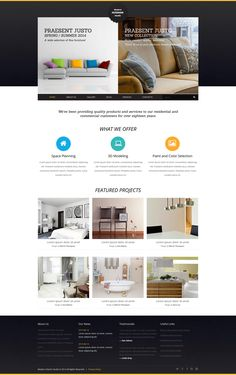 Joomla Template , Interior Art