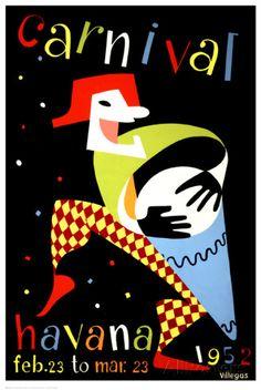 Carnival, Havana, 1952 Posters AllPosters.fi-sivustossa